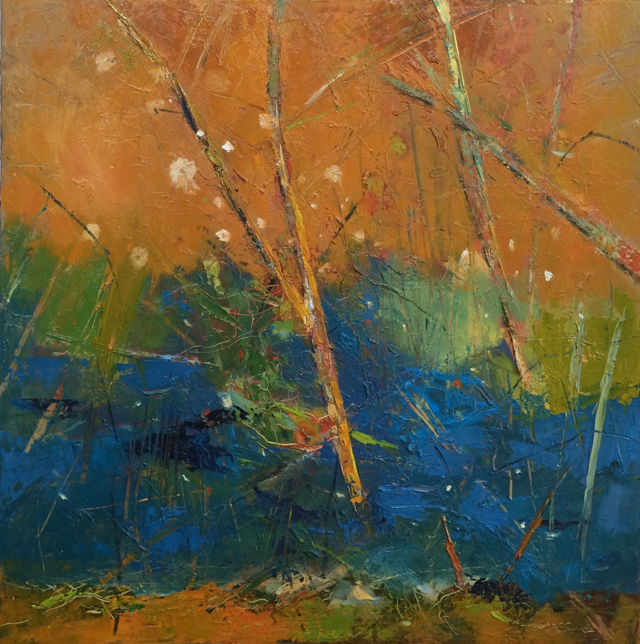 Late Summer Dreams, Thirion Abstract