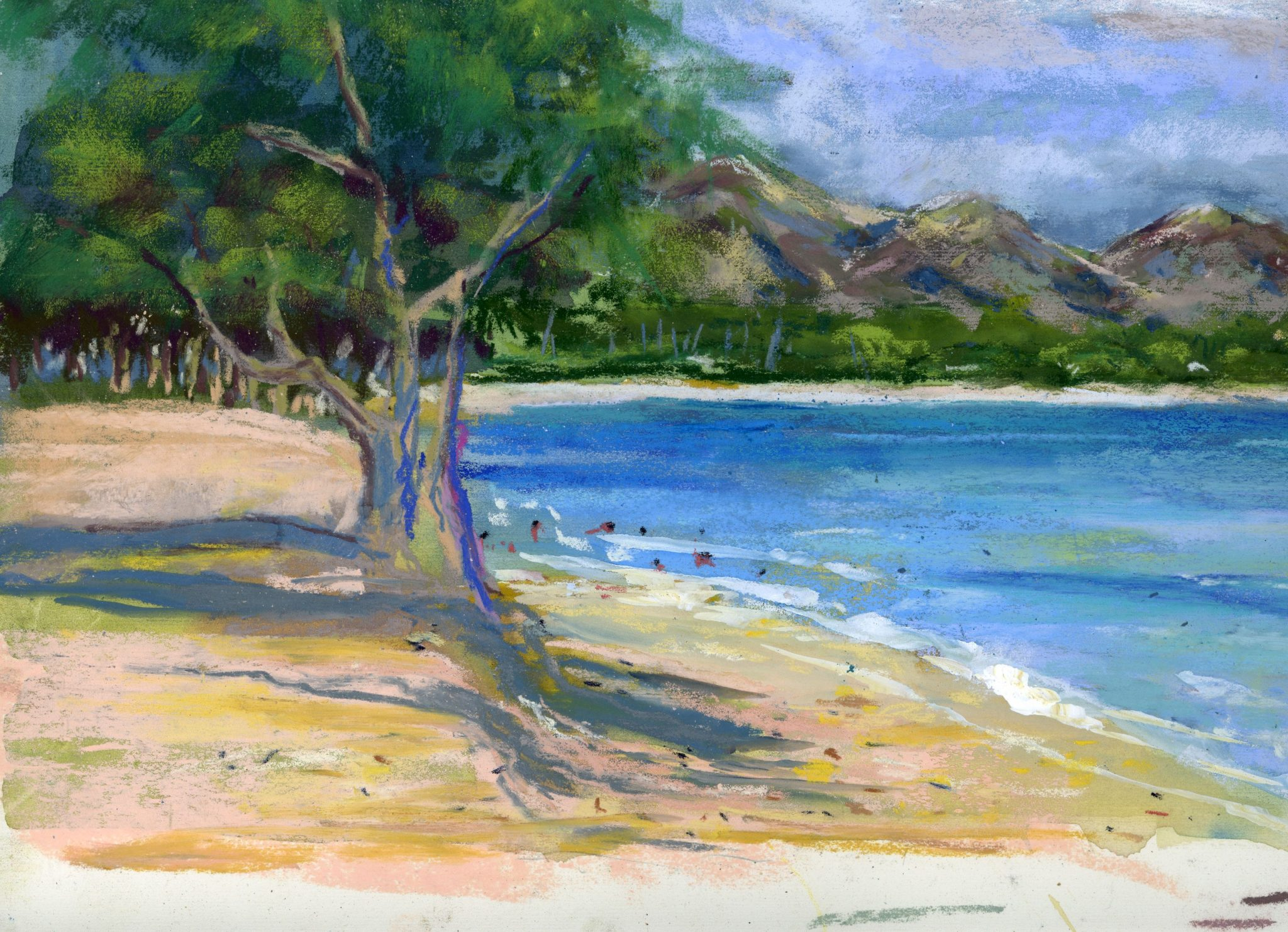 Quiet Beach on Oahu